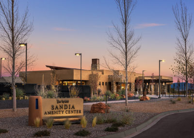Mirehaven Amenity Center landscape design