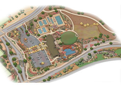 Mirehaven Amenity Center illustrative
