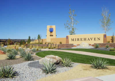 Mirehaven entry feature design