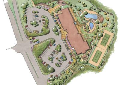 Amenity Center rendering