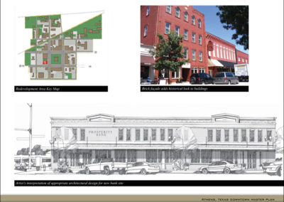 Streetscape and architectural improvement recommendations