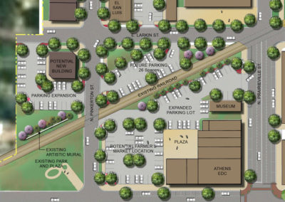 Farmers Market site redevelopment plan