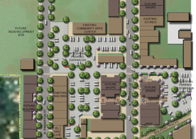 Athens Alley site redevelopment plan