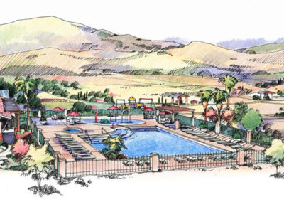 King Ranch community Amenity Center Rendering