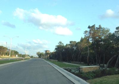 Lakeline Boulevard landscape design