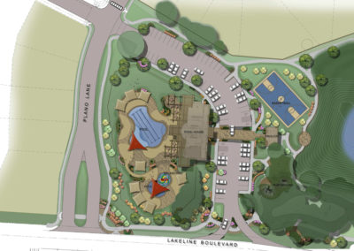 Amenity Center rendering