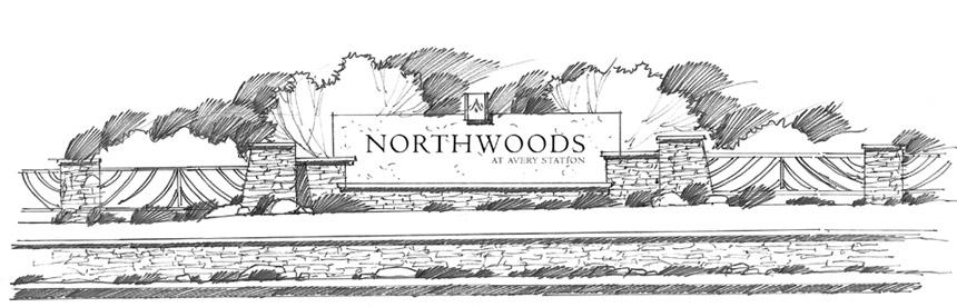 Entry sign design