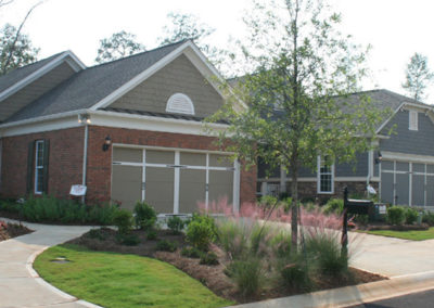 Model Home Park landscape design