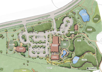 Cowan Creek Amenity Center site plan