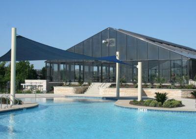 Outdoor and indoor pools