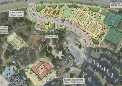 Village Center Expansion site plan