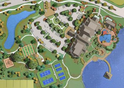 Montecito Clubhouse site plan