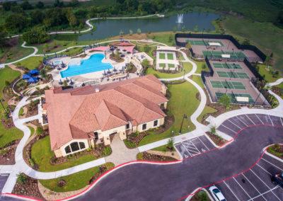 Vizcaya Amenity Center aerial view