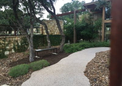 Amenity Center landscape Design