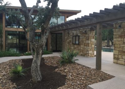 Amenity Center entry and landscape design