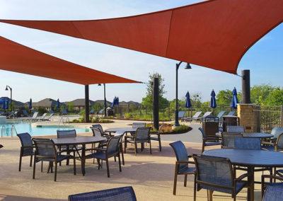 Resort pool furnishings