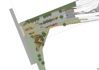 Entry plan rendering