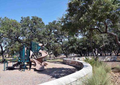 Playground hardscape