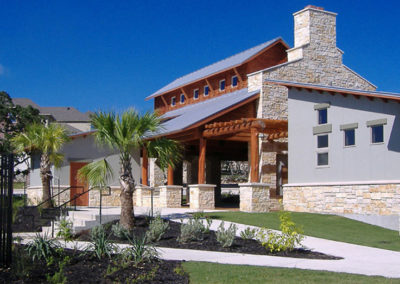 Amenity Center landscape design