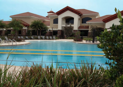 Resort style pool and Amenity Center