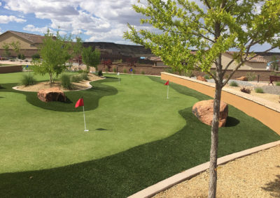 Mirehaven Amenity Center putting course