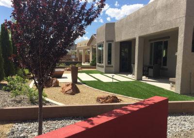 Mirehaven Model backyard design